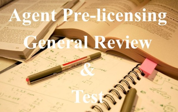 Agent Pre-licensing General Review & Test