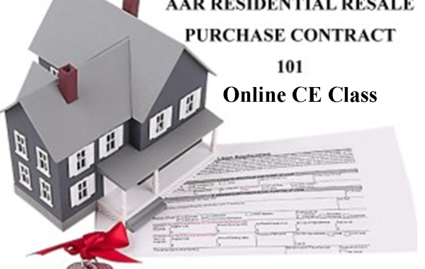 AAR RESIDENTIAL RESALE PURCHASE CONTRACT 101(6 Hours CE)