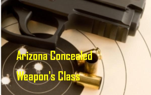AZ Concealed Weapon Permit Class