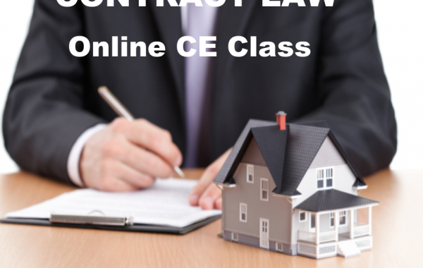 Contract Law (3 Hours CE)