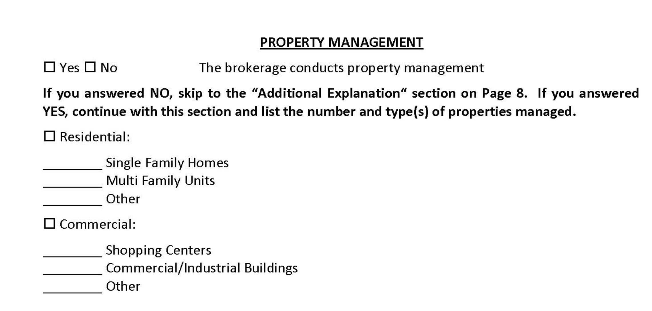 Property Managent