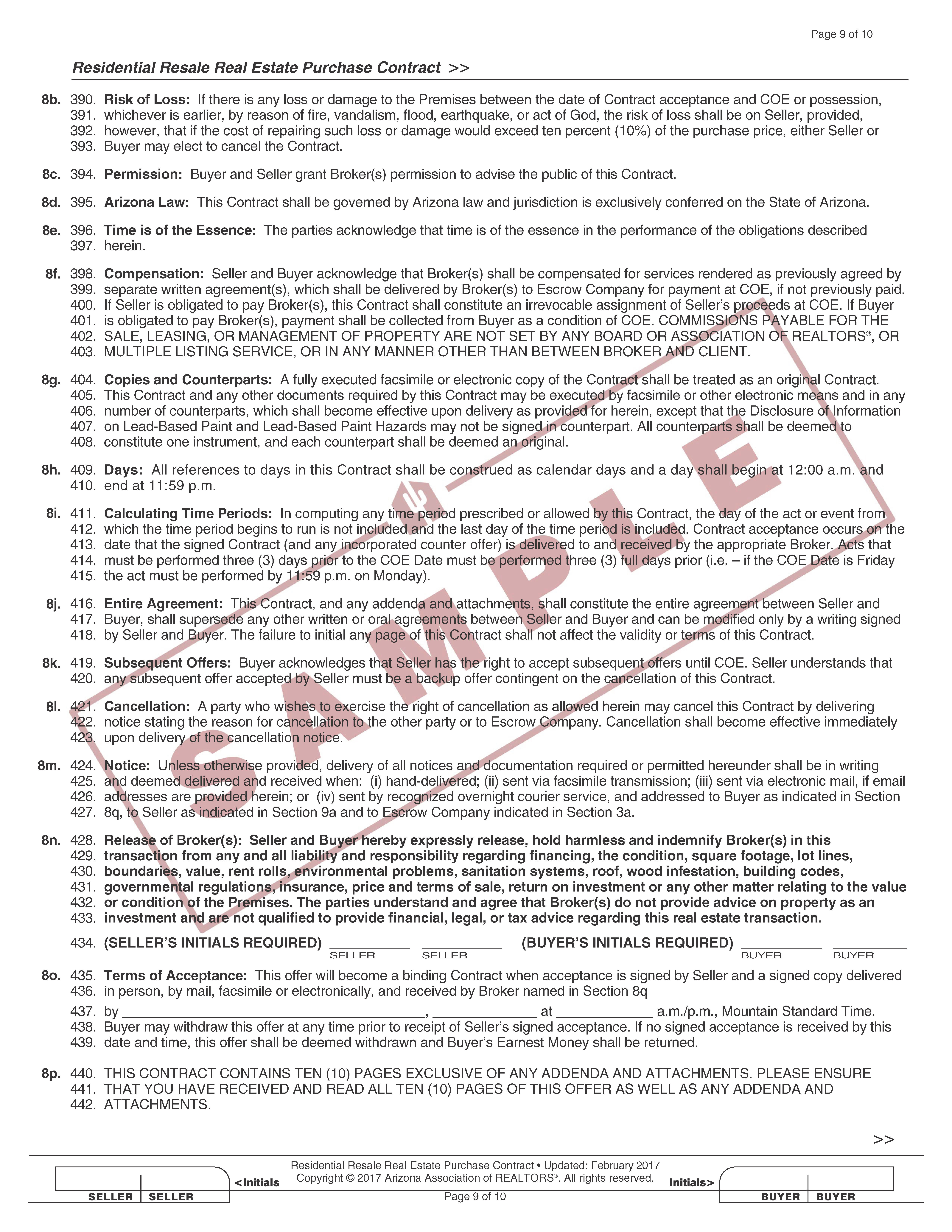 residential_resale_real_estate_purchase_contract_form_2-2017-sample_page_10