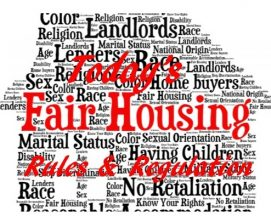 Today's Fair Housing Rules & Regulation